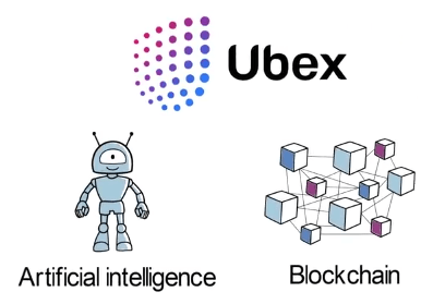 Ubex platform combining ai and blockchain technology