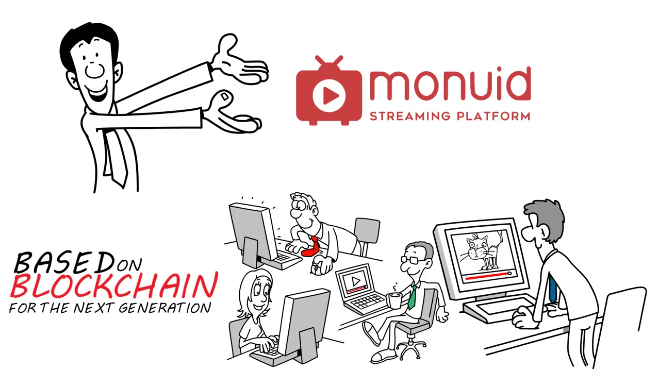 monvid ico decentralized streaming blockchain technology token