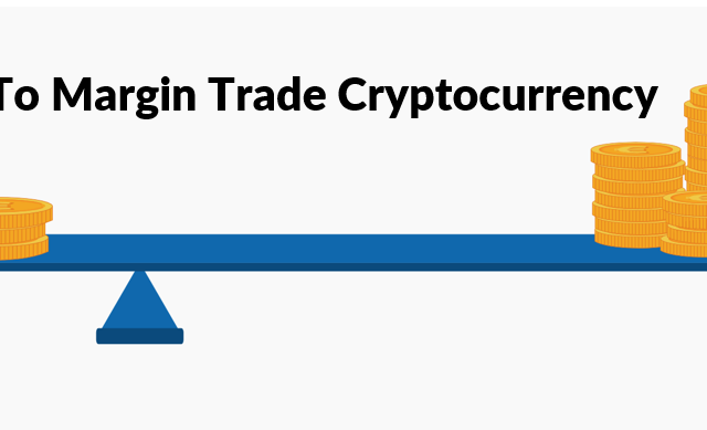 illustration showing cryptocurrency margin trading
