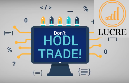"""financial algorithms for trading with the slogan """"don't hodl, trade!"""