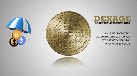 dexage exchange free tokens